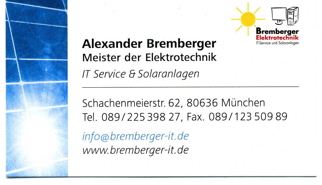 Bremberger Elektro- und IT- Systemtechnik